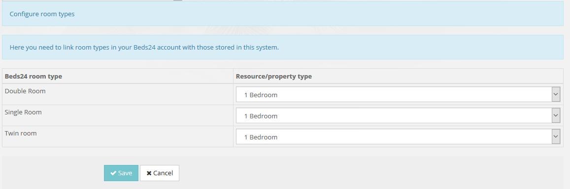link room types